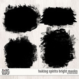 Baking Spirits Bright Masks