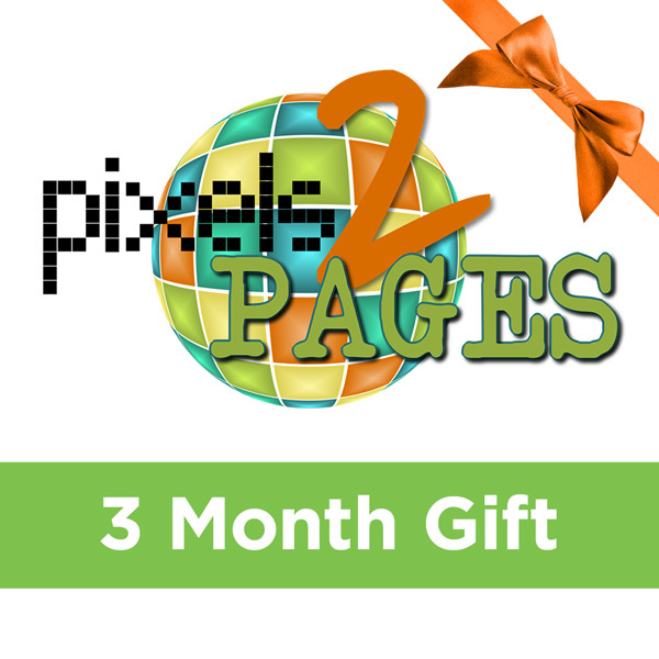 pixels2Pages Membership - 3 Month GiftGive the gift of Digital Art, Software, Storage, and Video plans. Make a lasting impression with our hand-selected favorites from FOREVER®.
