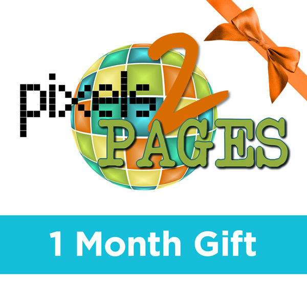 pixels2Pages Membership - 1 Month GiftGive the gift of Digital Art, Software, Storage, and Video plans. Make a lasting impression with our hand-selected favorites from FOREVER®.
