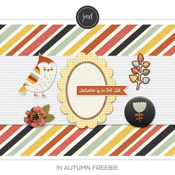In Autumn Freebie Digital Art - Digital Scrapbooking Kits