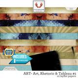 ART - Art, Rhetoric and Tableau #1 Seamless Layflat Papers
