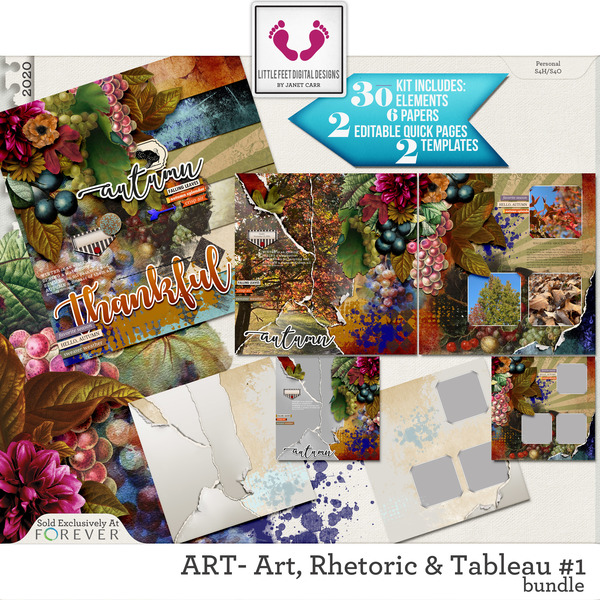 ART - Art, Rhetoric and Tableau #1 Bundle