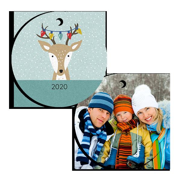 Christmas Time Reindeer Ornament
