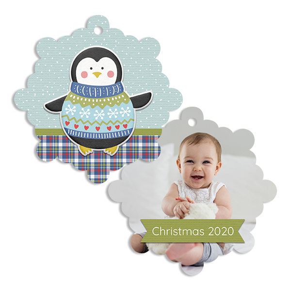 Christmas Time Penguin Ornament