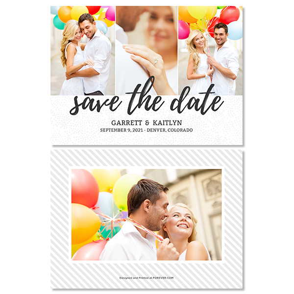 Save the Date Card Card