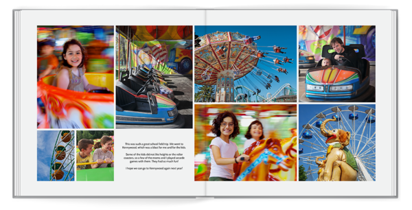 Panoramic White Seamless Collage 1 Seamless Layflat