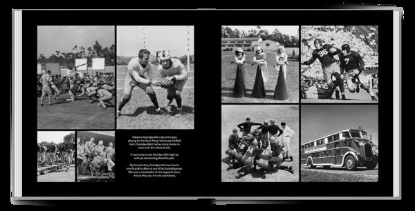 Classic Black Seamless Collage 1 Seamless Layflat