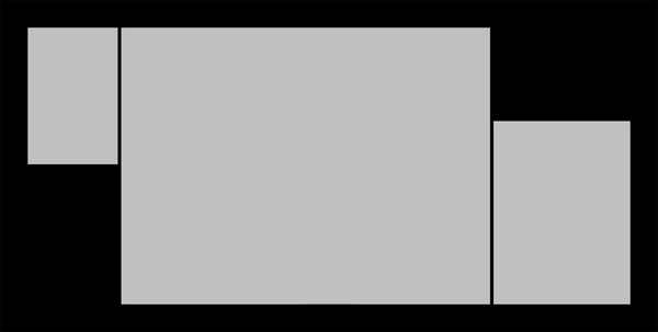 Panoramic Black Seamless Collage 1