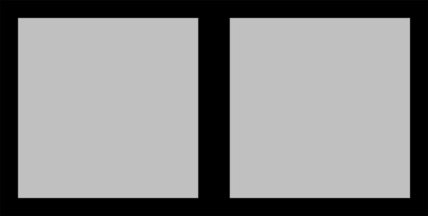 Panoramic Black Seamless Collage 2