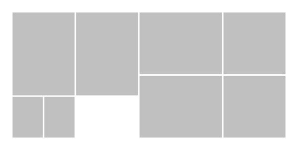 Panoramic White Seamless Collage 1