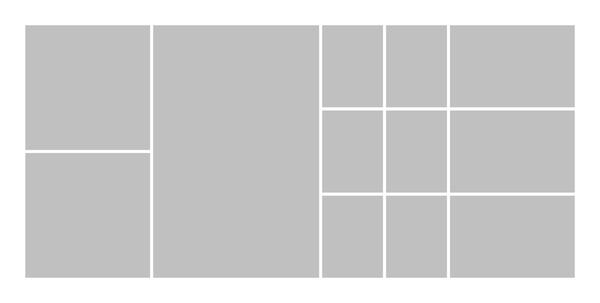 Panoramic White Seamless Collage 2