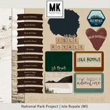 National Park Project Isle Royale (MI)