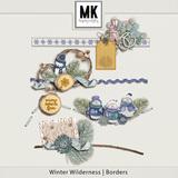 Winter Wilderness Borders