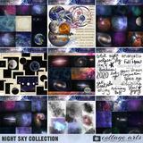 Night Sky Art Cards