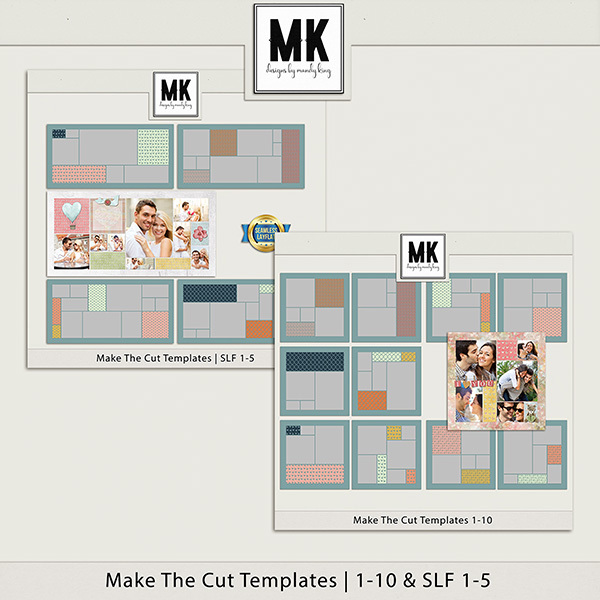 Make The Cut Templates Mega Bundle Digital Art - Digital Scrapbooking Kits