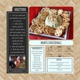 Classic Cookbook Templates - 12x12