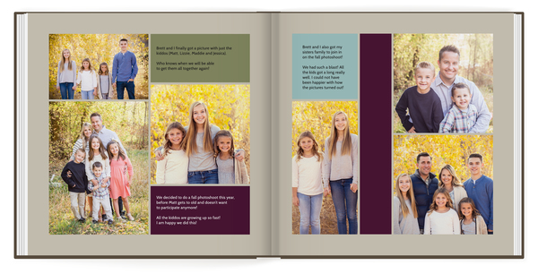 Lickety Split Autumn Photo Book