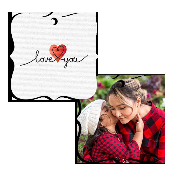Love You Ornament