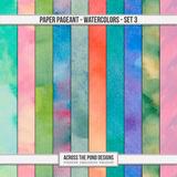 Paper Pageant Watercolors - Set 3