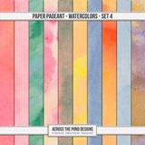 Paper Pageant Watercolors - Set 4