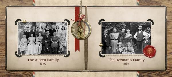 Family Album Mug