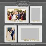 Timeless Tabletop Templates - Bride & Groom