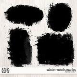 Winter Woods Masks