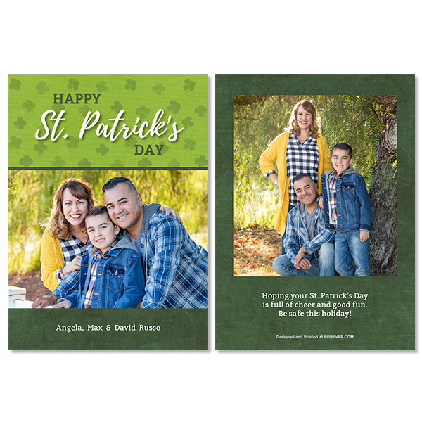 St. Patrick's Day Card Card