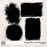 Fragile Like A Bomb Masks