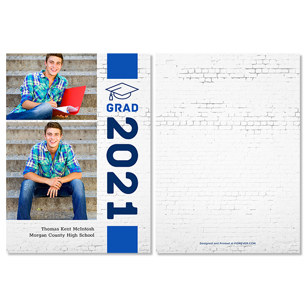 Vertical Grad Card
