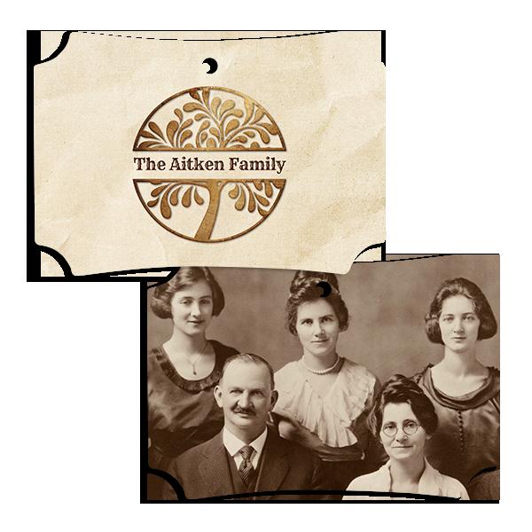 Family Tree Ornament 2