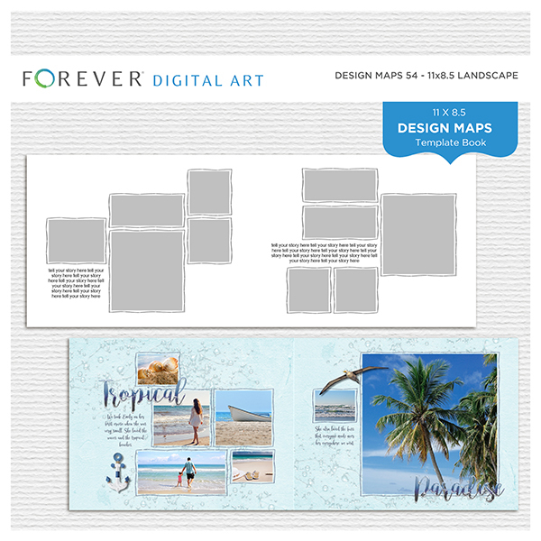 Forever Design Maps 54 - 11x8.5