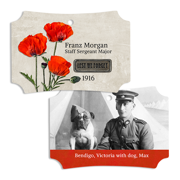 Lest We Forget Ornament