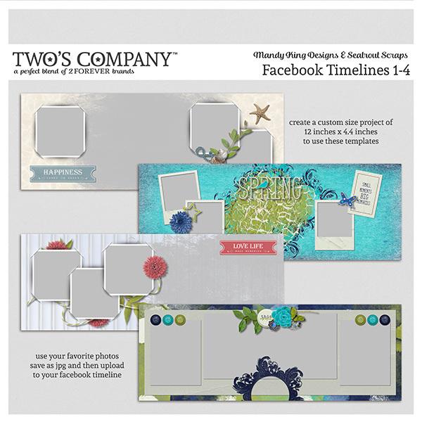 Facebook Timelines 1-4