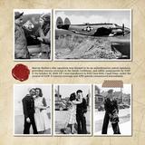 Vintage Memories Traveler 12x12 Pre-Designed Book