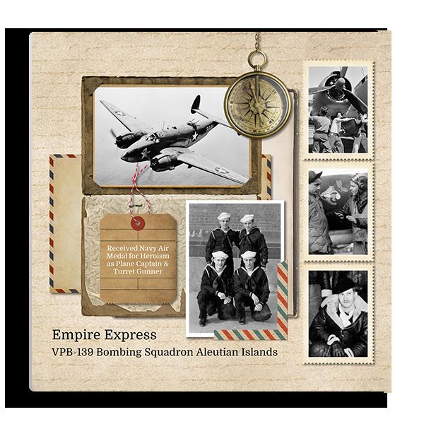 Vintage Memories Traveler 2 Panel Panel