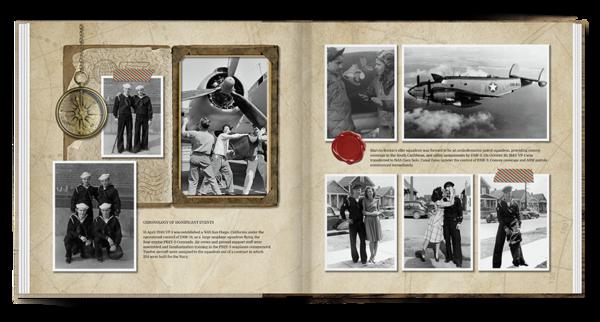 Vintage Memories Traveler Book Photo Book