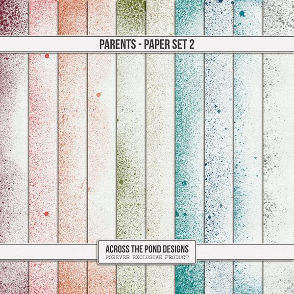 Parents - Papers 2 Digital Art - Digital Scrapbooking Kits