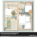 My Travel Journal Layered Template 01
