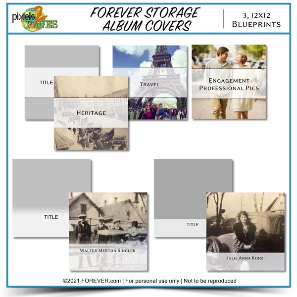 FOREVER Storage Album Covers