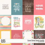 Love Lives Here Cards