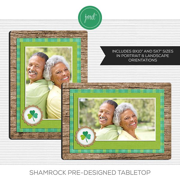 Shamrock Pre-Designed Tabletop