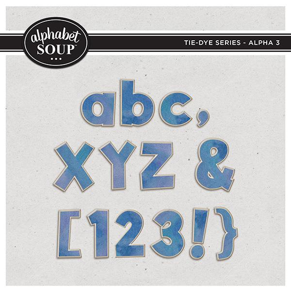 Tie-Dye Series - Alpha 3