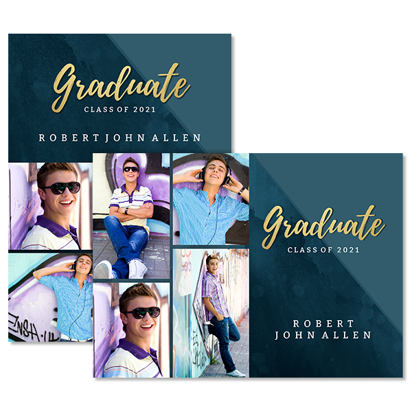Artistic Graduation Card Card