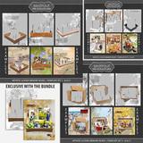 Artistic License Memory Boxes Bonus Bundle 8.5x11