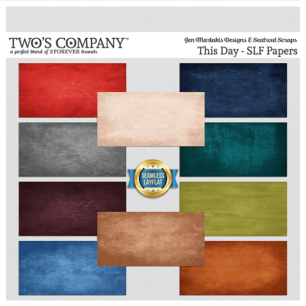 This Day - SLF Papers Digital Art - Digital Scrapbooking Kits