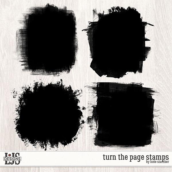 Turn The Page Masks Digital Art - Digital Scrapbooking Kits