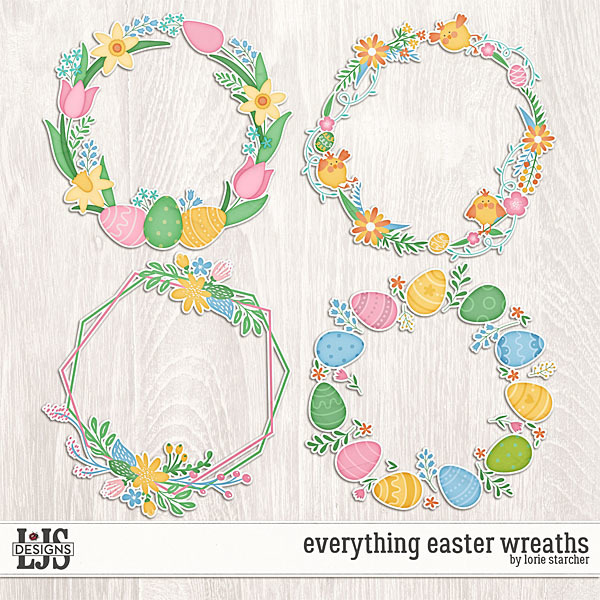 Everything Easter Wreaths