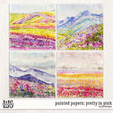 Painted Papers - Pretty In Pink