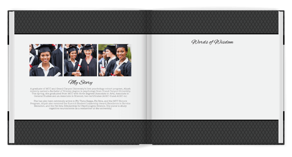 Formal Occasion Guest Book